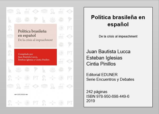 Tramas politica-brasileña-en-español Política brasileña en español. De la crisis al impeachment  Revista Tramas