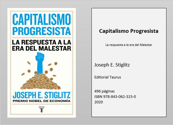 Tramas reseña-stiglitz Capitalismo Progresista. La respuesta a la era del Malestar  Revista Tramas